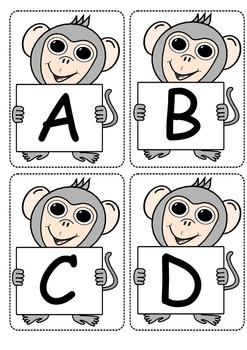 Alphabet Flashcards- Uppercase Letters
