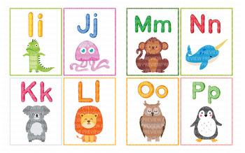 Alphabet Flashcards - VIPKid, GoGoKid, ESL Online Teaching