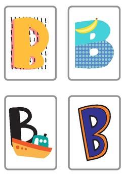 Alphabet Flashcards Wall Decor