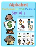 Alphabet Flashcards & Wall Posters (Bulletin Board Set) Set 2