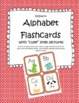 """Alphabet Flashcards with """"Cute"""" Style Pictures"""