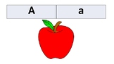 Alphabet Flashcards - With Letters