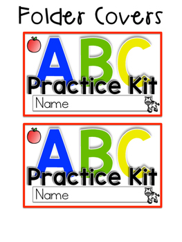 Alphabet Flashcards and Assessment