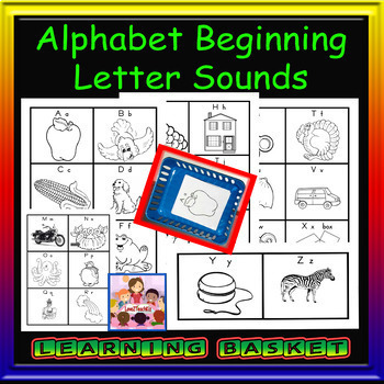 Alphabet Flashcards (for teacher or student use)  A-Z