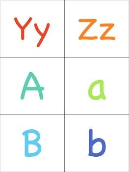 Alphabet Flashcards for the Virtual ESL Classroom - Virtual Classroom Props