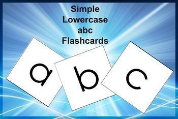 Alphabet Flashcards (lowercase)