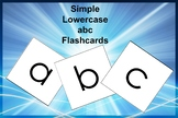 Alphabet Flashcards (lowercase)
