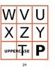 Alphabet Flashcards - upper & lowercase