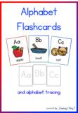 Alphabet Flashcards with Alphabet Tracing