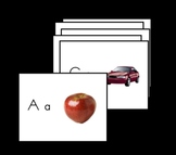 Alphabet Flashcards with Color Pictures