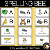 Spelling Bee Competition Easy Words Flashcards