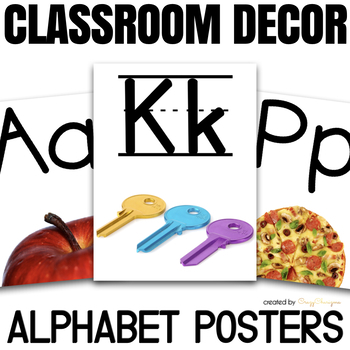 Alphabet Flashcards with Photos