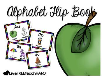 Alphabet Flip Book
