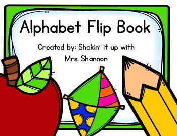 Alphabet Flip Book- Manuscript