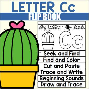 Alphabet Flip Book for Letter C