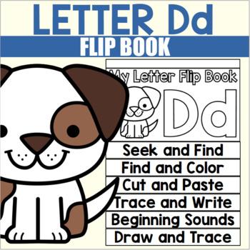 Alphabet Flip Book for Letter D