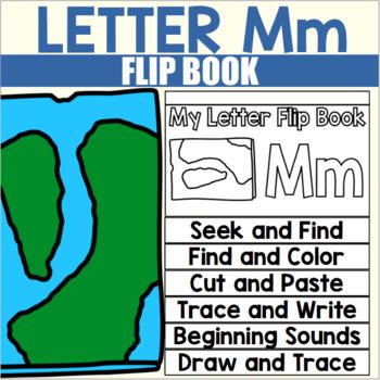 Alphabet Flip Book for Letter M