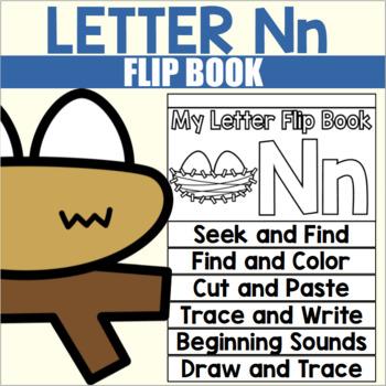 Alphabet Flip Book for Letter N