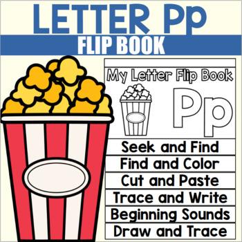 Alphabet Flip Book for Letter P