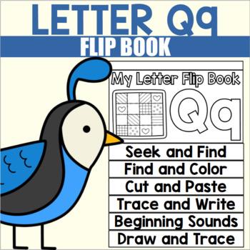 Alphabet Flip Book for Letter Q