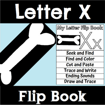Alphabet Flip Book for Letter X