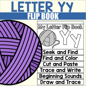 Alphabet Flip Book for Letter Y