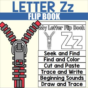 Alphabet Flip Book for Letter Z