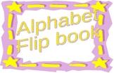 Alphabet Flip Book or flashcards