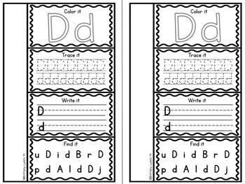 Alphabet Interactive Flip Books