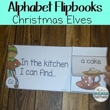 Alphabet Flip Books - Elves