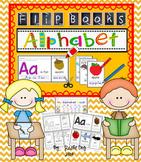 Alphabet Flip Books (Colored and Black and White) Copywork A-Z