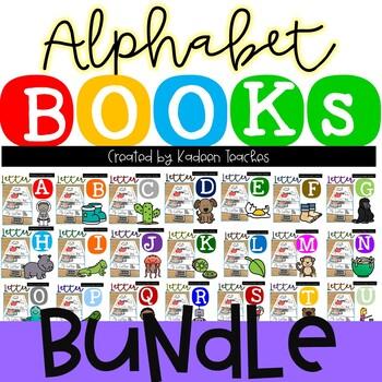 Alphabet Flip Books GROWING Bundle