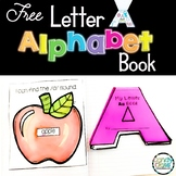 Alphabet Book -Letter A- Letter Recognition, Handwriting &
