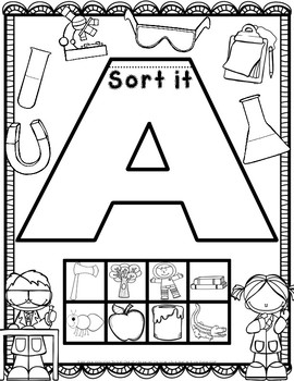 Beginning Sounds Flip Books (Whole Class or Intervention)