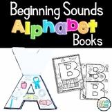 Beginning Sounds Cut & Paste Activities for Alphabet Centers