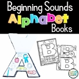 Beginning Sounds Cut & Paste Activities for Alphabet Centers
