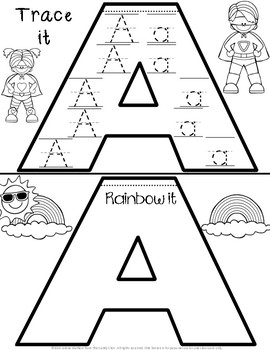 Handwriting Practice for Kindergarten: An A-Z Flip Book Collection