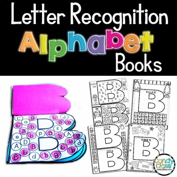 Letter Recognition Flip Books {Whole Class or Intervention}