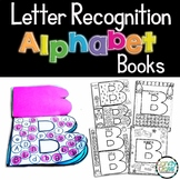 Letter Recognition Activities: Use as a Book or in an Interactive Notebook
