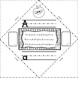 Alphabet Flip Flap Fold 'Em Up Activity for all 26 Letters