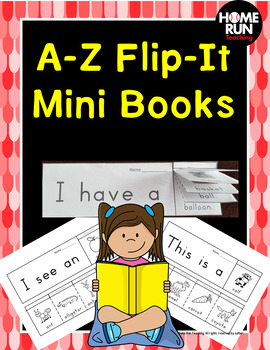 Alphabet Flip It Book