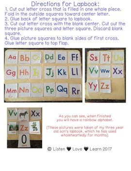 Alphabet Flip Lapbook