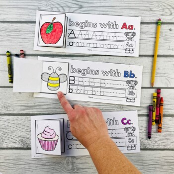 Alphabet Flip and Write Literacy Activity (26 Mini Flip Books Included)
