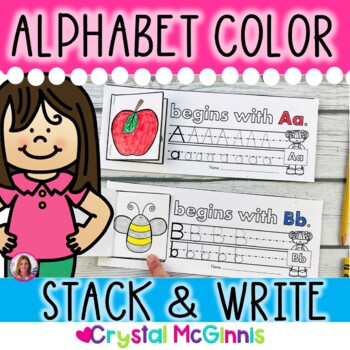 Alphabet Flip and Write Literacy Activity (26 Mini Flip Bo