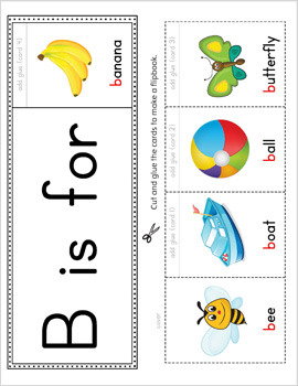 Alphabet Flipbook Activity Set PRINTABLE {COLOR}