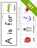Alphabet Flipbook Activity Set PRINTABLE {COLOR}