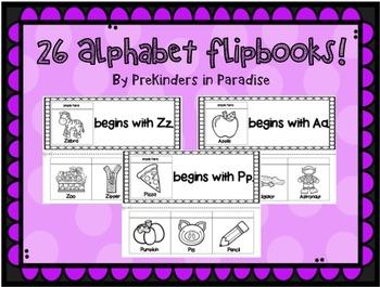 Letter Flipbooks