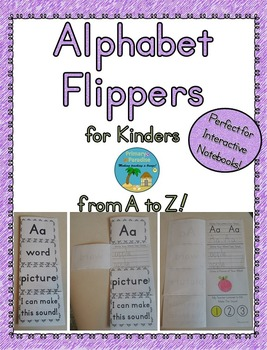 Alphabet Flippers for Kinders from A to Z
