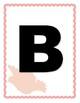 Alphabet - Floral Bird Cage Theme