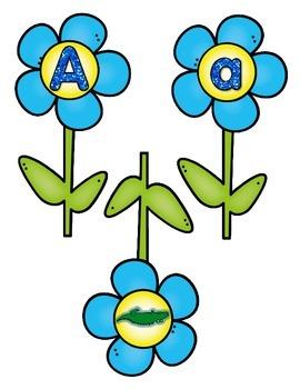 Alphabet Flower Pot Match